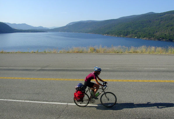 Cycling by Christina Lake