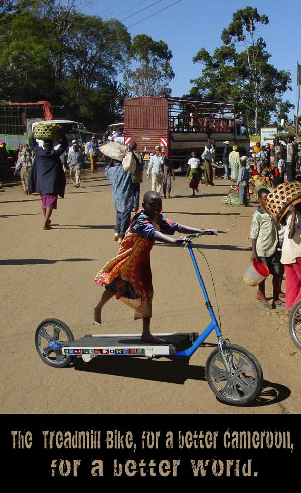 Treadmill Bike Promo for Cameroon