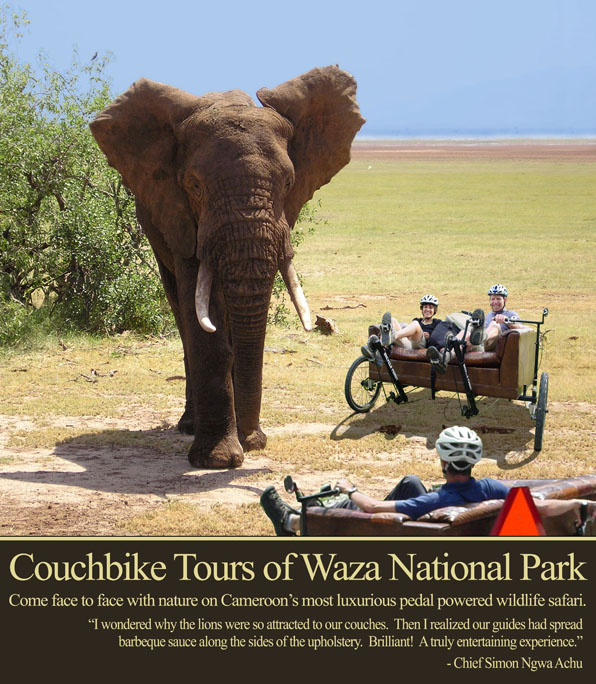 Couchbike Tours of Waza National Park