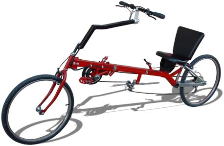 Homebuilt recumbent