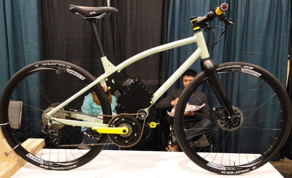 Green Pea Bikes at NAHBS