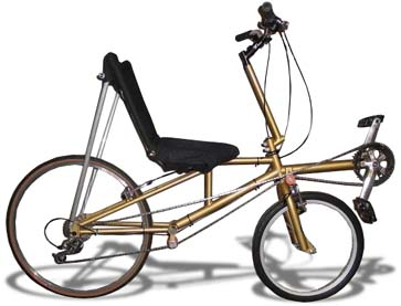 SWB Recumbent by Mark Bergstrom