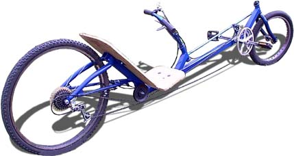 Blue Shark Recumbent