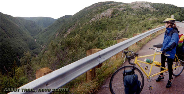 A Bicycle Forest tandem on the Cabot 