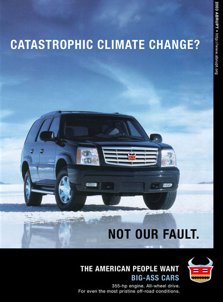 Catastrophic Climate Change