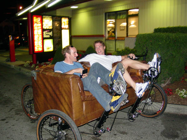 Bill and Scott on the