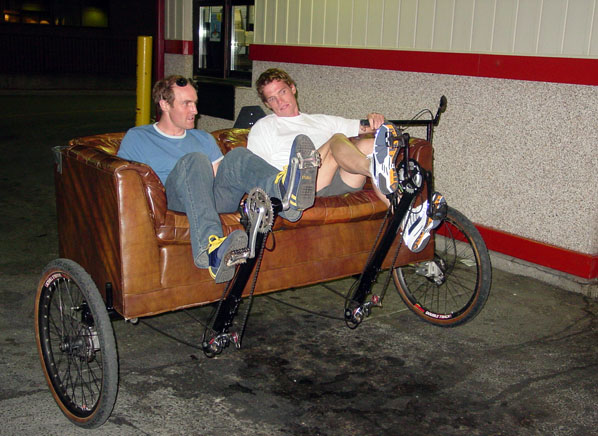 Couchbike drive thru