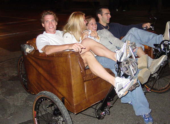 Couchbike taxi