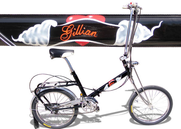 Gillian Komendat's Bike