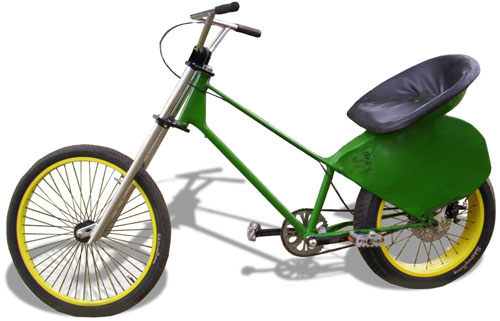 John Deere Theme Bike