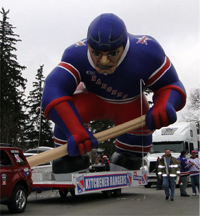 Kitchener Ranger Float