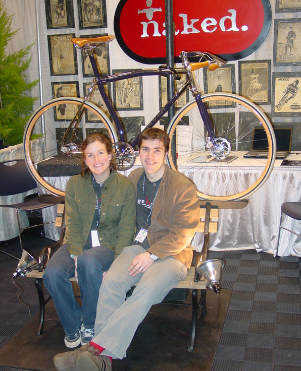 Naked Booth at NAHBS