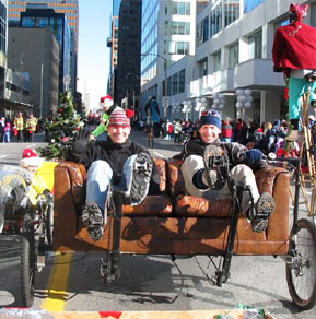Couchbike in Ottawa Toy Parade