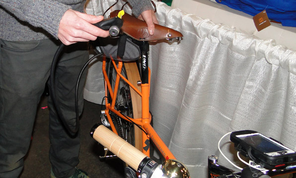 Folk Engineered Seatpost Pump