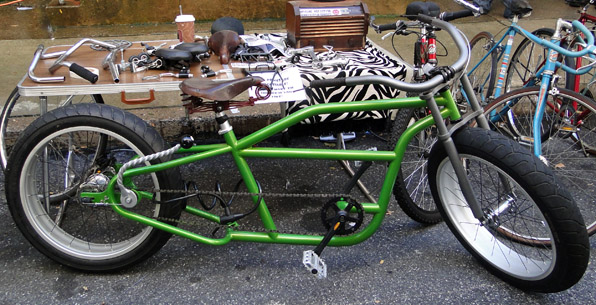 Green Chopper with Funky Shifter