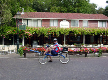 Rowingbike in the Netherlands
