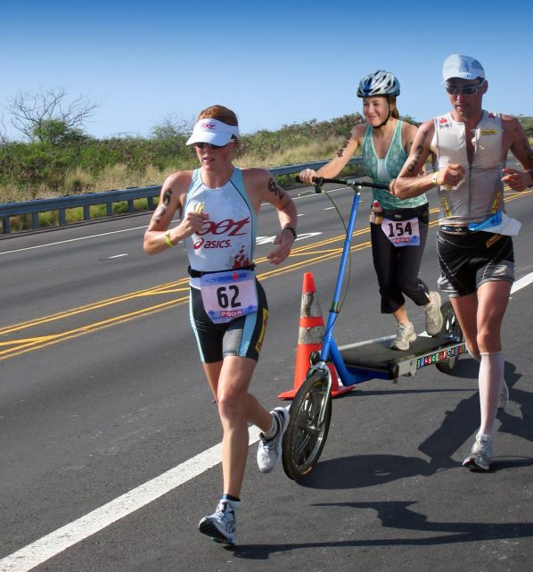 Treadmill Bike in Hawaii Ironman