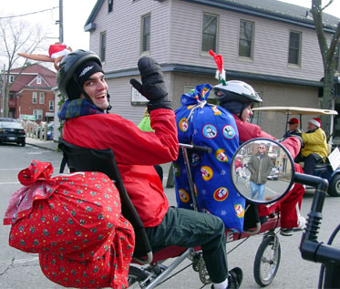 BikeE E2 Tandem in parade