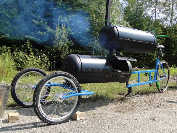 Smoker bike