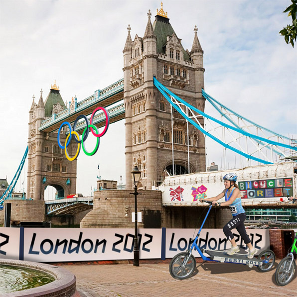 Treadmill Bike in London Olympics