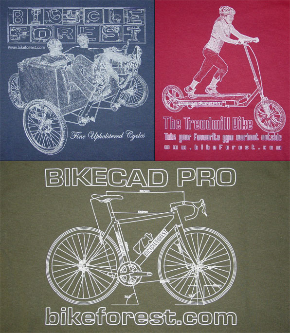 Bicycle Forest T-Shirts