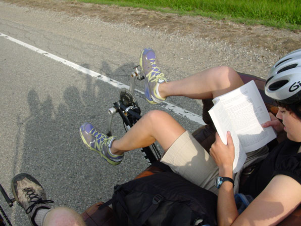 Studying on the Couchbike