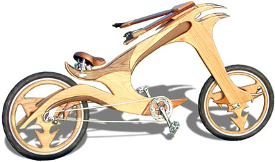 Wooden Chopper Bike