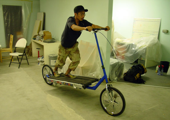 Treadmill Bike in L.A.